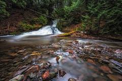 Madison Gap Falls (Kevin Pihlaja) Tags: longexposure nature river landscape outdoors waterfall spring michigan explore serene upperpeninsula eagleharbor coppercountry keweenaw leefilters bigstopper elizacreek madisongapfalls