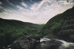 Saut de la Truite (Thomas Teffaine Photographie) Tags: wild panorama france water rock canon waterfall reflex wideangle filter nd dslr tarn viewpoint chute manfrotto castres filtre pdv sautdelatruite nd500