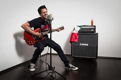 Rocking, Self portrait 2016 (luchador_lb) Tags: portrait music rock mexico guitar gibson