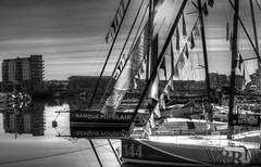 TransAt Yachts 30th April 2016 #14 (JDurston2009) Tags: blackandwhite bw sailing yacht plymouth barbican devon hdr 144 sailingboat suttonharbour transat transatbakerly