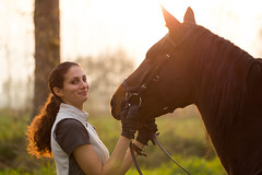 True Love (TBM photography) Tags: portrait horses horse love girl animal animals silhouette photoshop canon puppy landscape photography eos girlfriend 100mm cavalli cavallo macro100mm 60d