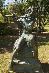 DUC_8006r Faun Leo Lentelli 1931 (crobart) Tags: sculpture gardens 1931 leo south carolina inlet faun brookgreen murrells lentelli