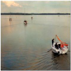 Boats (pixel_unikat) Tags: lake water boats poland textured masurischeseenplatte