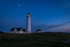 untitled-78-HDR (Tubaaage) Tags: nightphotography blue sunset sky lighthouse denmark himmel hirtshals danmark fyr solnedgang nordjylland vendsyssel visitdenmark northdenmarkregion