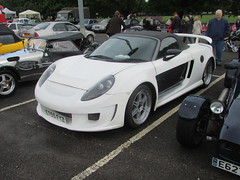 Toyota MR2 Tourismo Avalanche GT CT55FYZ (Andrew2.8i) Tags: gemballa toyota mr2 zzw30 bodykit modified roadster mrs gt tourismo avalanche classics in cardiff show body kit custom classic car