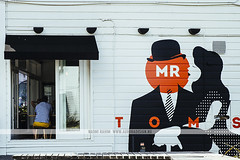 Mr Toms - Auckland, NZ (Naomi Rahim (thanks for 2 million hits)) Tags: city travel newzealand summer urban art architecture cafe nikon mural wanderlust auckland nz signage northisland branding 2015 travelphotography nikond7000 mrtoms