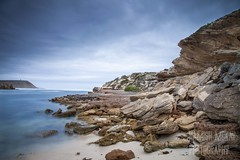 Pondalowie Bay, Innes National Park (Hamish Mckay) Tags: park sea cliff beach canon coast rocks long exposure south ngc australia cliffs national lee beaches filters innes