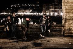 Intrt ou dsintrt (cyrcra) Tags: street florence firenze rue nuit