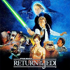 RETURNOFJEDICD (ESP1138) Tags: star wars return of the jedi john williams london symphony orchestra twentieth century fox records compact disc mp3 album cover soundtrack