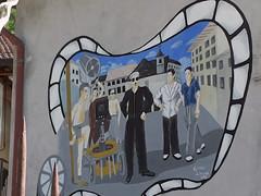 """Legro """"Paese dipinto"""" (frank28883) Tags: piemonte murales lagodorta ortasee novara muridipinti cusio ortasangiulio legro lacdorta paesedipinto"""