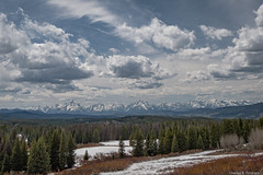 Teton Skyline - Wyoming (petechar) Tags: mountains skyscape landscape tetons grandtetonnationalpark bridgertetonnationalforest charlesrpeterson petechar panasonicgx8