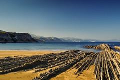 Zumaia (jdelrivero) Tags: costa beach rock playa elements material geology provincia roca rocas geologia gipuzkoa zumaia elementos