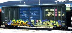 blank - leaf (timetomakethepasta) Tags: fart barf lute atb blank leaf wh kbt sfb mtc ync hitop freight train graffiti golden west service boxcar ssw