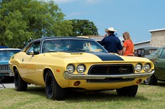 The Challenge (dangr.dave) Tags: classic car texas tx dodge challenger carshow springtown parkercounty masoniccarshow