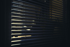 (charlie rocket photography) Tags: light window colors contrast dark shadows perspective blinds bullet