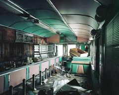 (.tom troutman.) Tags: abandoned 120 mamiya film analog mediumformat 50mm kodak nj 7 diner 6x7 portra 160