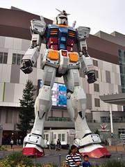 Mr Roboto (Fehlfokus) Tags: tokyo odaiba roboter