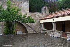 (Eleanna Kounoupa) Tags: architecture stairs mediterranean greece monastery rodos traditionalarchitecture    filerimos dodecaneseislands