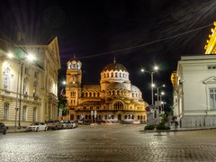 The road to Nevsky Cathderal (jamescastle) Tags: church architecture cathedral sofia bulgaria christianity orthodox byzantine easterneurope