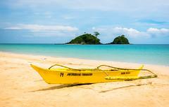 Nacpan Beach (pietkagab) Tags: nacpan elnido philippines palawan beach sea daylight boat pietkagab piotrgaborek photography pentax pentaxk5ii travel trip tourism relax sunny asia paradise