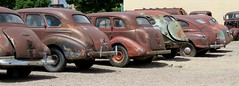 Vintage cabooses  [explore] (jimsawthat) Tags: rust colorado forsale delta smalltown us50 vintageautomobiles projectcars