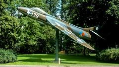 Poortwachter | Hawker Hunter (rudyvandeleemput) Tags: 2005 hunter meteor hawker leeuwarden gloster lwr starfighter luchtmacht klu flb vlb poortwachter ehlw