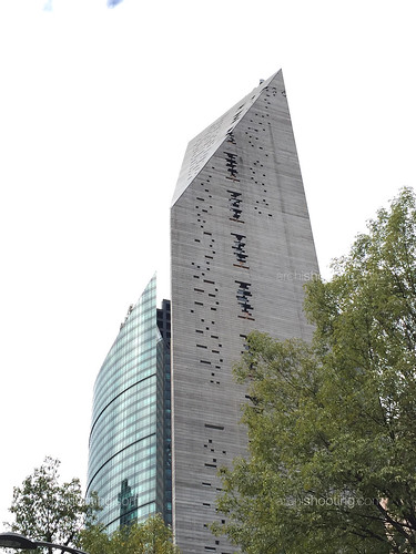 Torre Mayor y torre Reforma