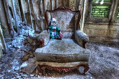 C'est ma cousine... (urban requiem) Tags: old urban france castle abandoned lost tricot doll decay sigma armchair chateau exploration schloss derelict chteau hdr verdure verlassen fauteuil kasteel urbex abandonn poupe 816 verlaten bcassine 600d colire tricote tayage chateaudelcolire chateauverdure
