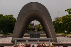 The Memorial Cenotaph (TheSpaceWalker) Tags: japan photography photo nikon wwii pic hiroshima 1750 tamron atomicbomb abomb d300 memorialcenotaph thespacewalker