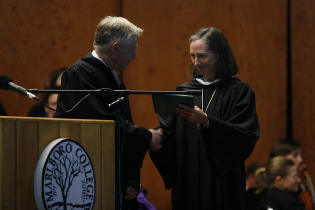 Ellen Awards a Degree