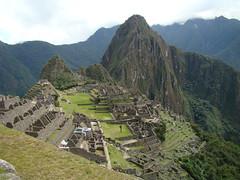 Ingreso a Machu Picchu