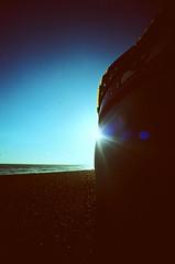 (lomoD.xx) Tags: blue sea sky sun beach clouds sussex seaside lomo xpro crossprocessed xprocess brighton ride hove shoreline slide fair sunburst 100 seafront agfa agfaprecisa vignette deserted 100asa agfaprecisa100 lomodxx lcw precisa omo precisa100 lomowide lomodxxwall lomolcw