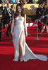 Lea Michele 18th Annual Screen Actors Guild Awards (SAG Awards) held at The Shrine Auditorium - Red Carpet Arrivals Los Angeles, California