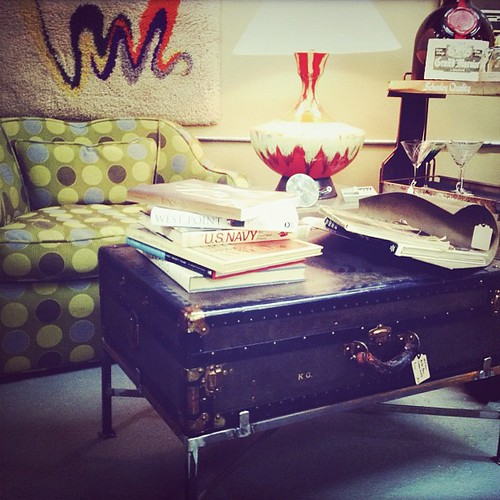 Repurposed trunk by Paris on Ponce & Le Maison Rouge, on Flickr