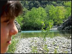 Masso (..camo..) Tags: wood river profile profilo