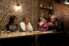 Dinner with Barack & MichelleMarch 8th, 2012, Washington D.C. (Barack Obama) Tags: firstlady obama2012 michelleobama presidentobama dinnerwithbarack