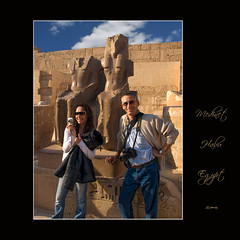 1232 Medinet Habu (QuimG) Tags: portrait people art geotagged golden gente retrato egypt olympus egipto gen egipte retrat medinethabu specialtouch quimg quimgranell joaquimgranell mygearandme qin afcastell obresdart instantsidetalls