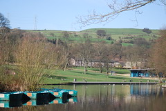 Shibden Park boating lake (Halliwell_Michael ## Thanks you for your visits #) Tags: lake reflection boats spring halifax 2012 shibden shibdenpark nikond40x