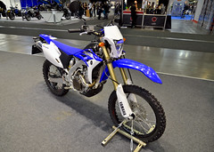 Yamaha WR450F (The Adventurous Eye) Tags: fair brno f motorcycle yamaha 450 wr 2012 wr450f motosalon