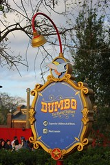 Dumbo - Storybook Circus (insidethemagic) Tags: new dumbo trainstation opening waltdisneyworld themepark magickingdom fantasyland toontown expansion barnstormer phaseone storybookcircus