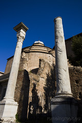 """Tempio del Divo Romolo • <a style=""""font-size:0.8em;"""" href=""""http://www.flickr.com/photos/89679026@N00/6834147040/"""" target=""""_blank"""">View on Flickr</a>"""