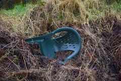 Chair (Sandy Beach Cat) Tags: uk green scotland chair empty plastic bracken flikr tyneinghame chairsfurniture
