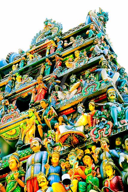 Sri Mariamman Kovil (Temple), Singapore