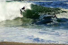 DSC08617 (palmtreeman) Tags: ocean sea beach water surf waves surfing wedge skimming