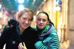 Lisa (Robyn Ramsay) Tags: street uk girls portrait people woman colour girl field person photography scotland nikon women europe grim bokeh glasgow 18 miss depth ramsay d90 nikond90