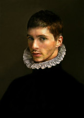 16th Flemish portrait painting revisited (Tribute to unknown artist) (eftimov-schenk-schwartz) Tags: portrait male costume model historicalcostume 50faves nikolaeftimov simplysuperb