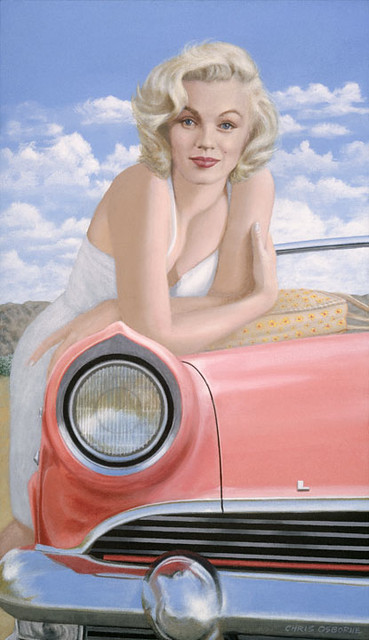 MARILYN MONROE and 55 Lincoln by ChrisOsborne