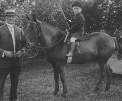 Boy on Pony (theirhistory) Tags: boy horse man hat kid child boots riding pony whip horn rider breeches jodhpurs