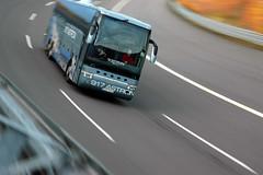 Sicherheitstraining Bus Lausitzring