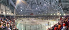 Heinz Arena Leamington Ont - Leamington OPP vs Boston Bruins (Dude with a Canon) Tags: hockey canon pano panoramic leamington bostonbruins heinz hdr photomatix raybourque rebelxs